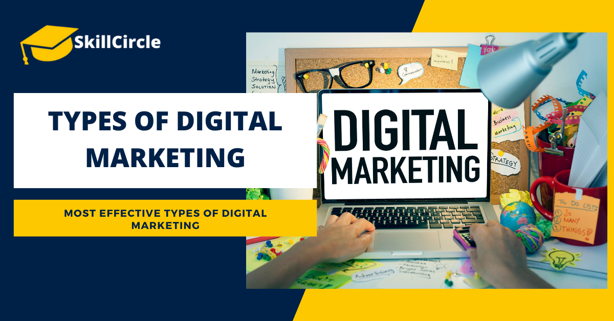 What are the Different Types of Digital Marketing